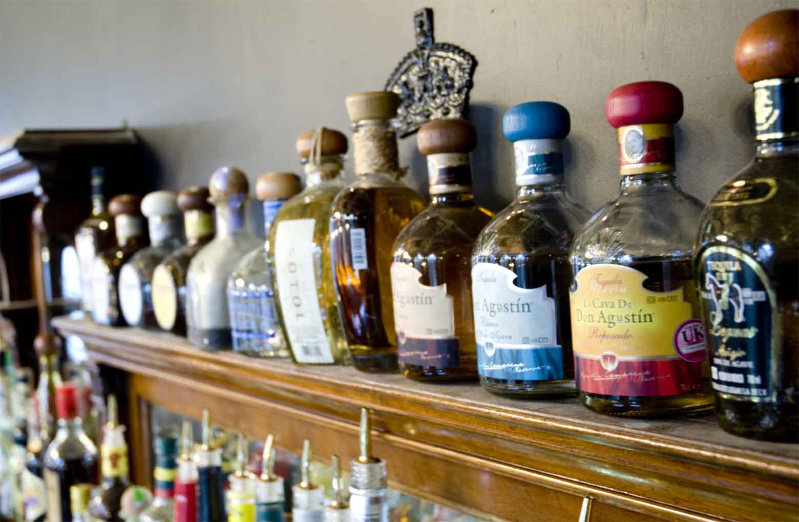 We offer Rum and Tequila Tastings