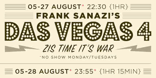 Frank Sanazi's Das Vegas Four: Zis Time It's War