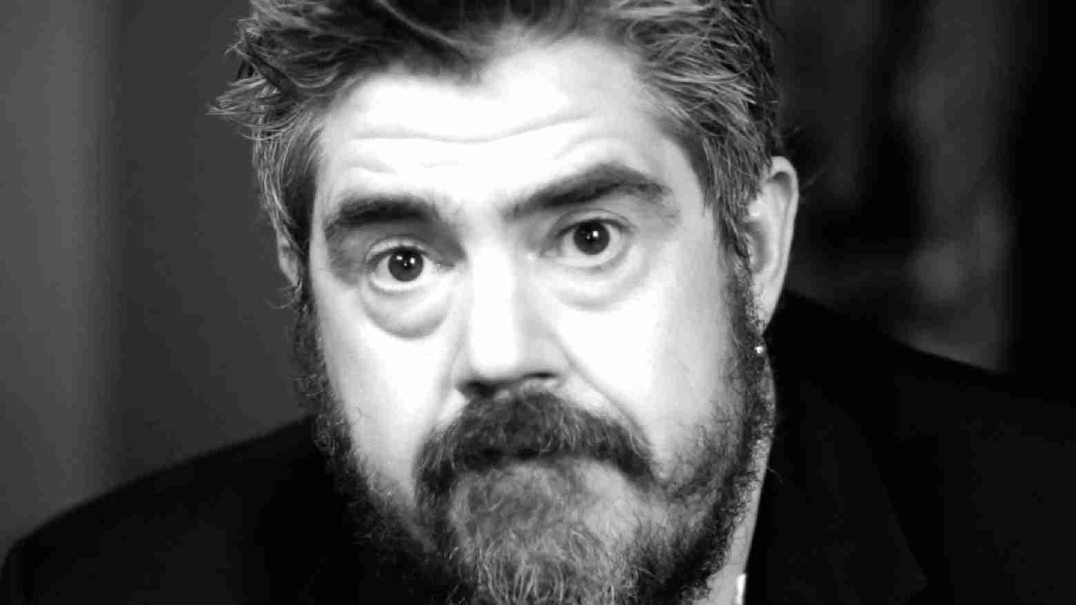 Phill Jupitus Is Porky The Poet In Living In A World Where They Throw The Ducks At The Bread