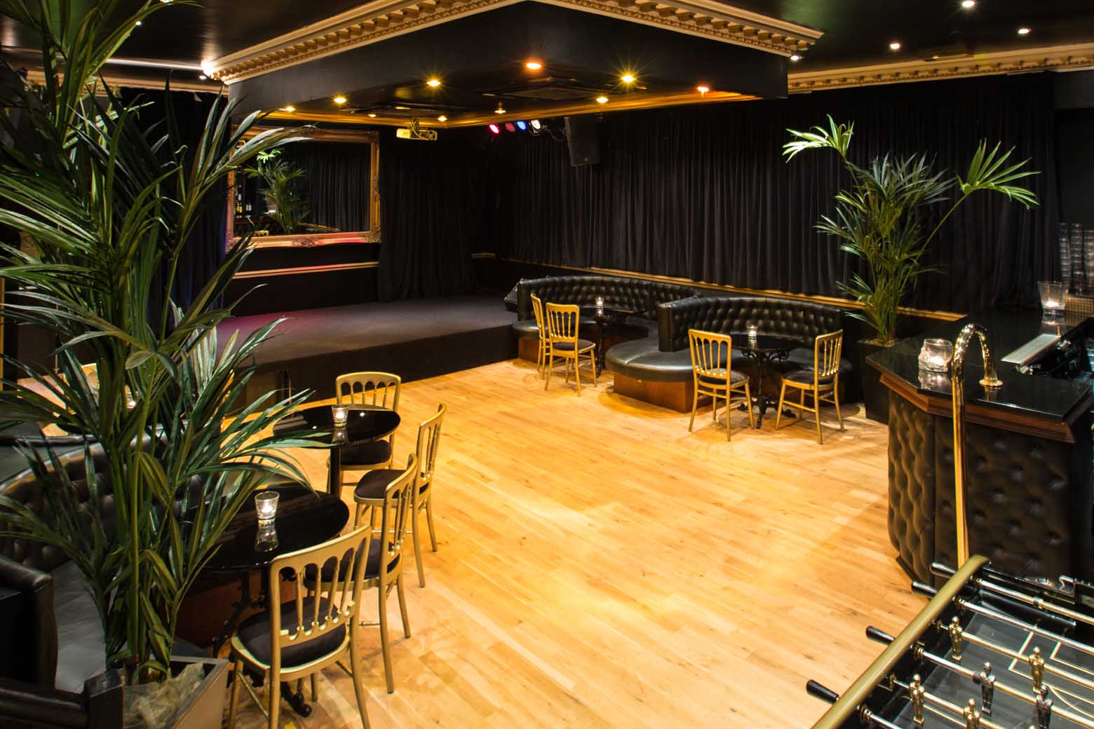 The Speakeasy if a very flexible event space suitable for live music, functions and special occasions.
